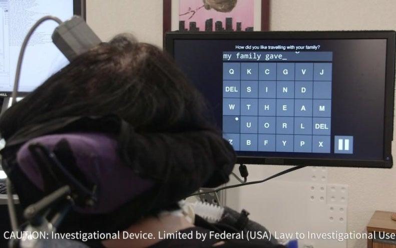 Brain–Computer Interface Allows Speediest Typing to Date
