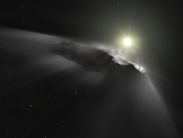'Oumuamua, Our First Interstellar Visitor, May Have Been a Comet After All