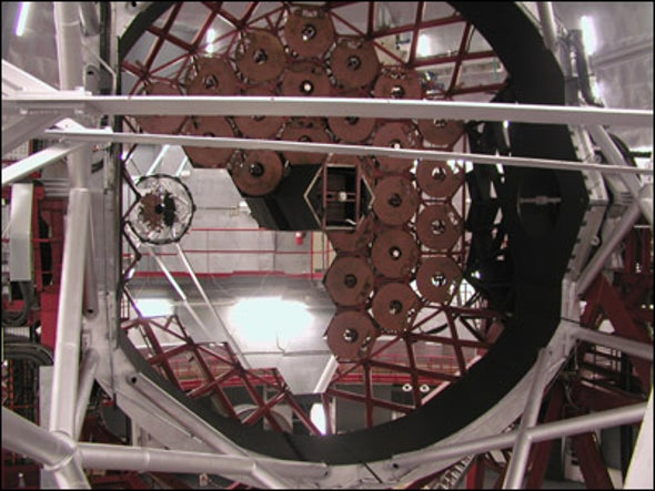 Behemoth Telescope Ready for Its First Star