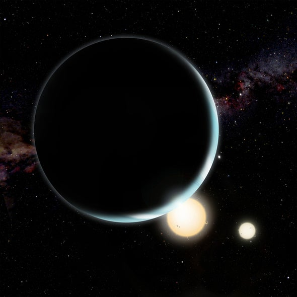 """Star Wars"" Planets Migrate into Position around Stellar Pairs"