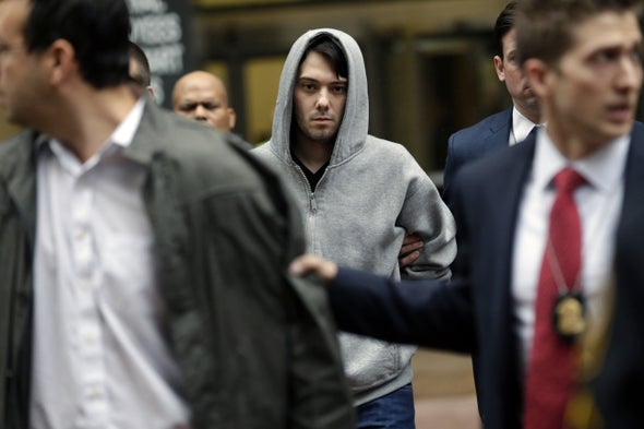 Martin Shkreli, Who Raised Drug Prices from $13.50 to $750, Arrested in Securities Fraud Probe