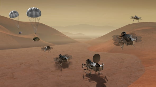 New NASA Mission Will Fly Titan's Frigid Skies to Search for Life's Beginnings