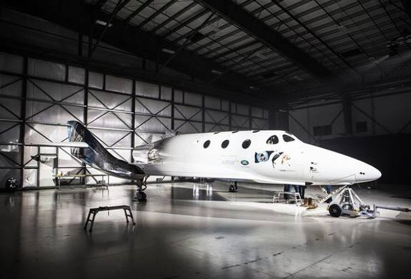 Virgin Galactic Unveils New SpaceShipTwo <i>Unity</i> for Space Tourists