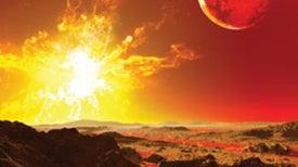 Antimatter-Powered Supernovae