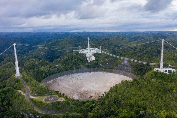 The Arecibo Radio Telescope's Massive Platform Has Collapsed