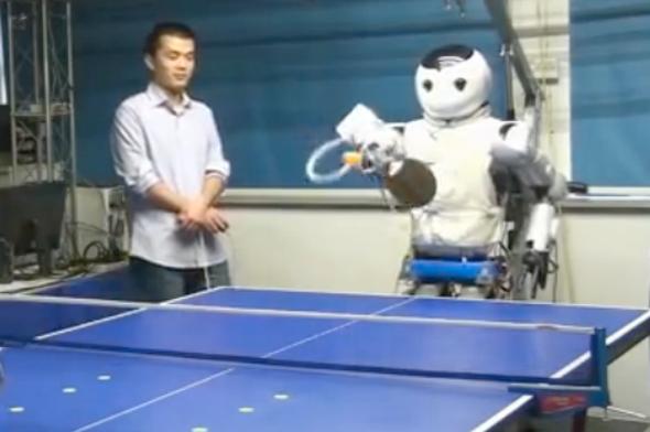 Robot Athletes Got Game [Video]
