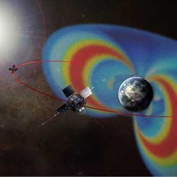 Third 'Van Allen Radiation Belt' Makes Appearance around Earth
