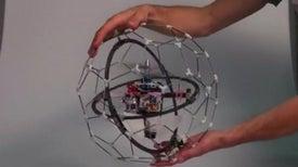 Flying 'Gimball' Designed for Impact