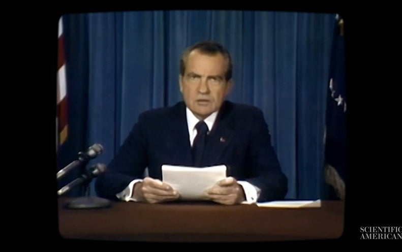A Nixon Deepfake, a 'Moon Disaster' Speech and an Information Ecosystem at Risk - Scientific American