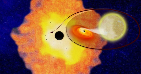 Astronomers Spy Swarms of Black Holes at Our Galaxy's Core