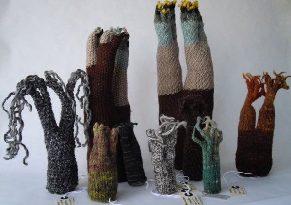 The Stunning Symbiosis between Math and Knitting [Slide Show]