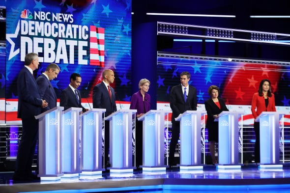 "Democrats Divided on ""Medicare for All"" in First Debate"