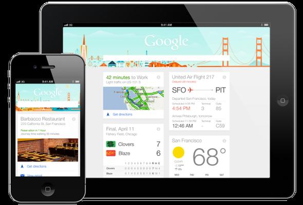 Google Now 'Talks' Its Way onto iOS