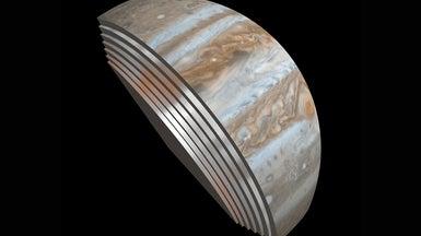 Jupiter's Stripes Go Deep - Scientific American