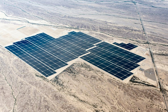 World's Largest Solar Array Set to Crank Out 290 Megawatts of Sunshine Power