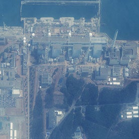 Fukushima Daiichi power plant