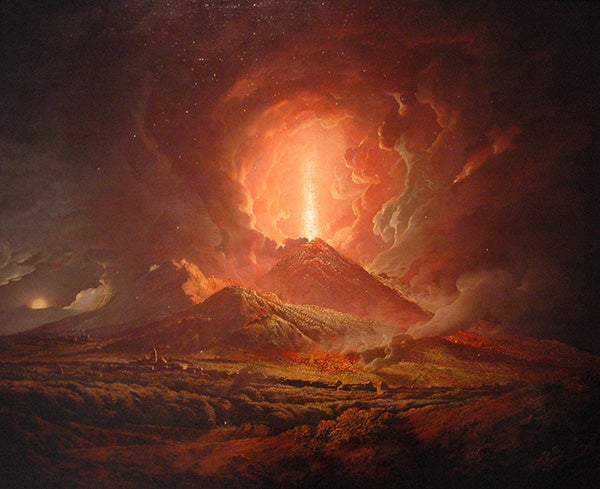 Ancient Scrolls, Burned in Vesuvius Volcano Eruption, Deciphered by Advanced X-Ray Scans