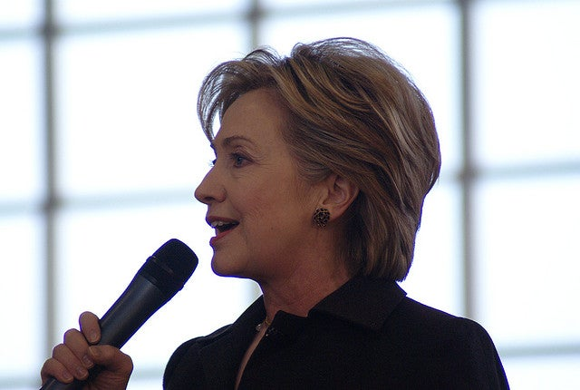 Hillary Clinton Vows to Make U.S. a Clean Energy Superpower