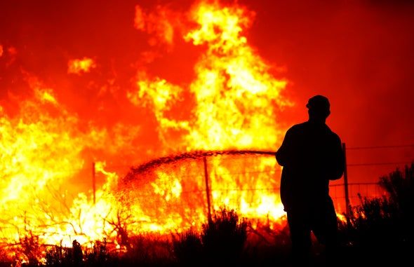 Explosive' Dixie Fire Could Become Biggest in CA History - Scientific  American