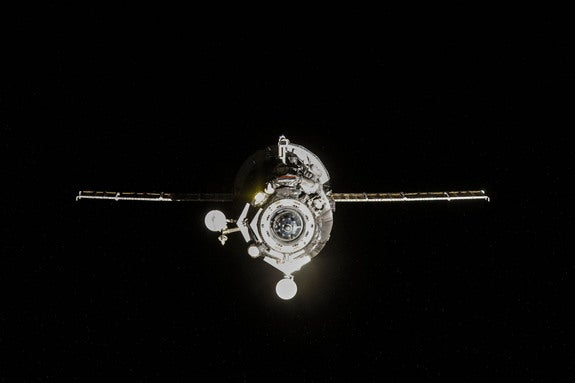 Out-of-Control Russian Spaceship Falls Back to Earth