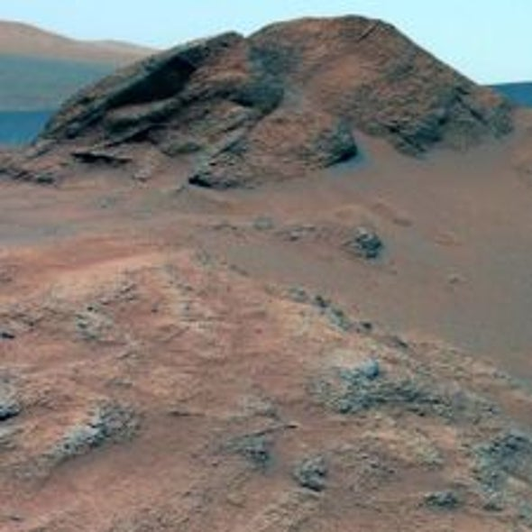 Water Spirit: Rover Findings Hint of a Warmer, Wetter Era on Mars