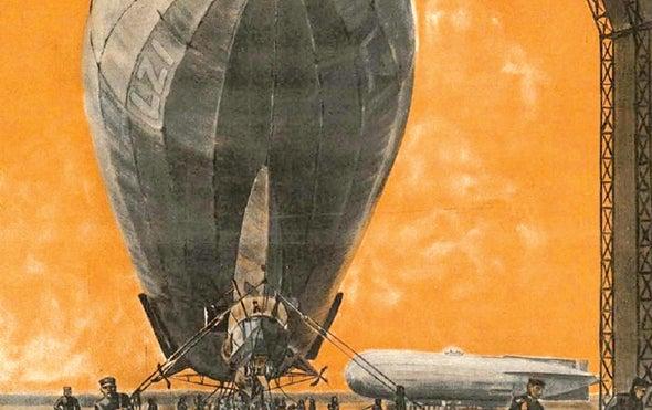 Spacecraft Moon Landing, 1966; Zeppelin Docking, 1916; Helicopter Failure, 1866