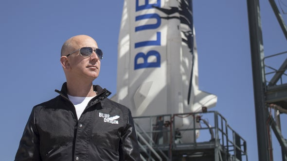 Blue Origin Launches and Lands Rocket for the Third Time
