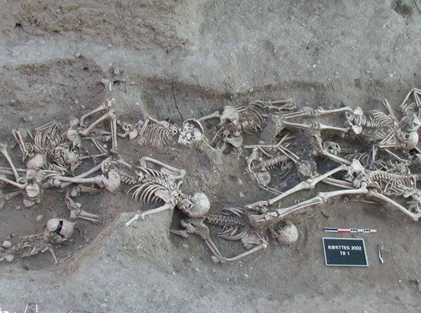 Bronze Age Skeletons Were the Earliest Plague Victims
