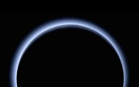 Hazy Skies Cool Down Pluto