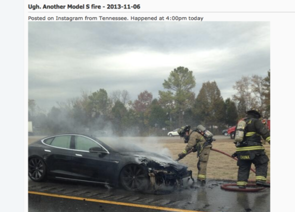 Man in Tesla Model S fire: 'I'd buy another one'