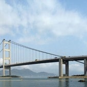 TSING MA BRIDGE, HONG KONG, CHINA