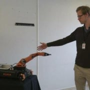 3-D Vision Makes Industrial Robots Friendly