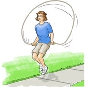 Skipping Science: An Experiment in Jump-Rope Lengths