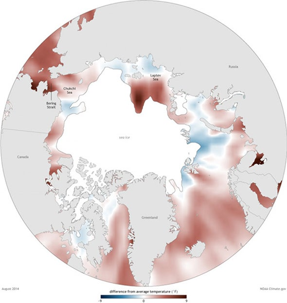 Persistent Warming Drives Big Arctic Changes