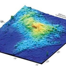 Largest Volcano on Earth Lurks beneath Pacific Ocean