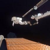 9. SNAGGED SOLAR ARRAY--NOVEMBER 3, 2007