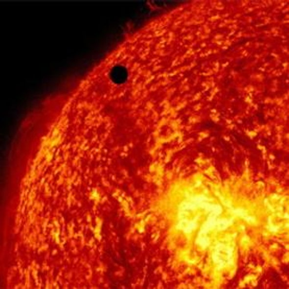 Venus Crosses the Sun for Last Time until 2117