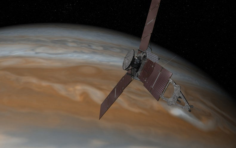 After Glitch, NASA's Juno Probe Resumes Science Mission at Jupiter