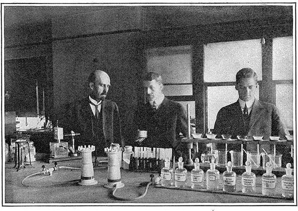 Industry in Wartime, 1916