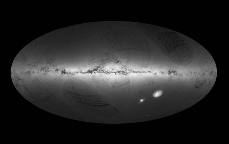 New Billion-Star Map Reveals Secrets of the Milky Way