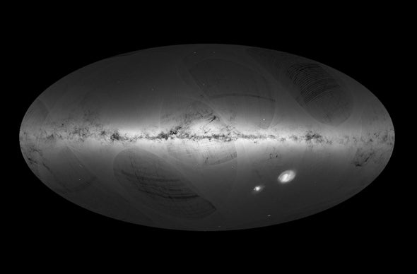 New Billion-Star Map Reveals Secrets of the Milky Way