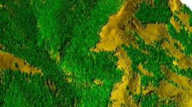Laser Mapping Reveals New Details of Earth's Surface