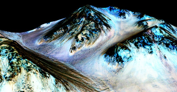 Oxygen-Rich Liquid Water May Exist on Mars