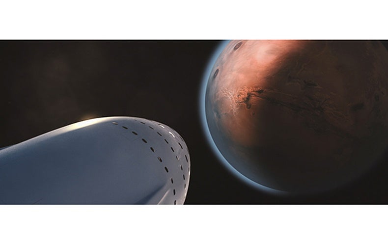Elon Musk Publishes Plans for Colonizing Mars