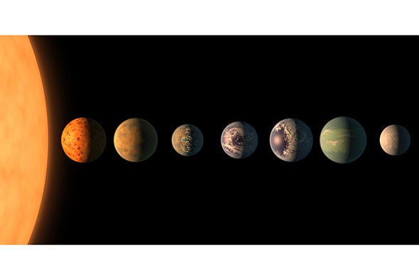 Only One of TRAPPIST-1's Rocky Planets May Be Right for Life