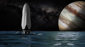 SpaceX's Elon Musk Unveils Mars Colonization Dream Ship