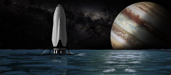SpaceX's Elon Musk Unveils Mars Colonization Dream Ship