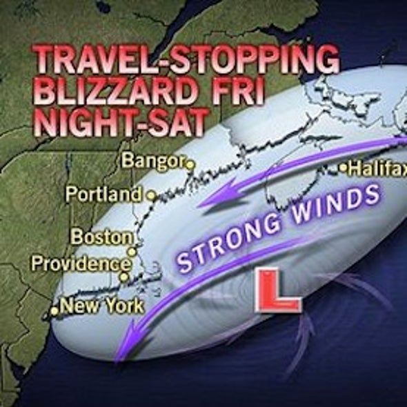 Blizzard Brings Travel Nightmare for New England