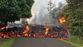 How Kilauea's Lava Invades Neighborhoods