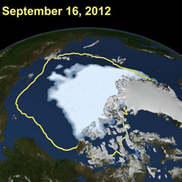 Arctic Sea Ice Loss Creates Ripple Effects